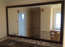 9 bathroom mirror frame cottage bathroom mirror ideas white high