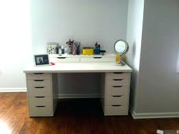 Small Makeup Desk Makeup Desk Vanity Dresser And Table All White Set Small