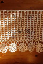 Filet Crochet Patterns For Home Decor 212 Best Curtains Images On Pinterest Crochet Curtains Filet