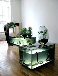 Fish Tank Reception Desk Home Office Storage Furniture Richfielduniversity Us