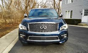 road test review 2016 infiniti qx80 limited with ken