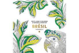 Livre beauté santé forme Marabout COLORIAGE BRESIL  Darty
