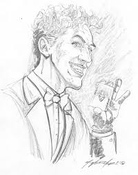 joker pencil sketch by wedmer on deviantart