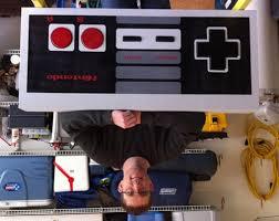 Nintendo Nes Coffee Table 100 Mega Nes Controller Mario Marathon