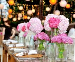 5 ideas for easy diy wedding table centerpieces