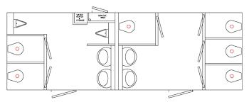 smart idea 6 commercial bathroom layout floor plans homepeek