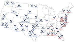 afb map list of united states bases thousands of