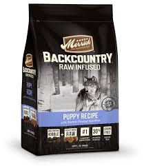 merrick backcountry raw infused puppy recipe grain free dry