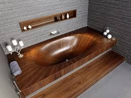 wooden bathtub wooden bathtubs for modern interior design and luxury bathrooms