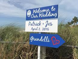 welcome wedding sign navy anchor wedding decor destination