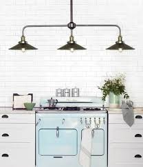 traditional pendant lighting for kitchen manor 3 light bar pendant frame in age steel with 200mm antique
