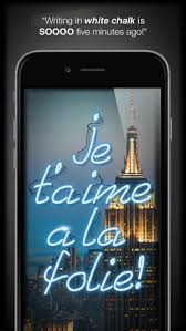 neon light font generator light write decorate your photos for the holidays on the app store