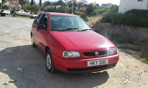 seat ibiza 1998 hatchback 1 0l petrol manual for sale limassol