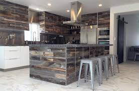 wood backsplash kitchen 7 reclaimed wood kitchen ideas stikwood diy wood decor