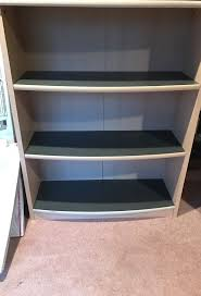 sturdy bookcase for heavy books book shelves beige and dark gray sturdy heavy nice wood good quality