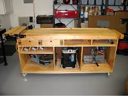 how to build a work table impressive mobile workbench plans diy free download how to build a