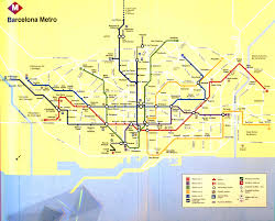 Madrid Metro Map by Spain Madrid Barcelona Train Rail Maps