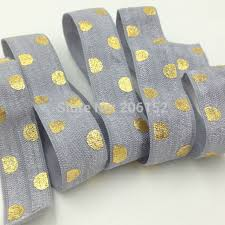 elastic ribbon wholesale foe elastic big polka dot 5 8 fold elastic ribbon wholesale