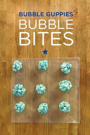 bubble guppies bubble bites snack nickelodeon parents