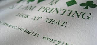 letterpress printing getting started with letterpress printing design shack