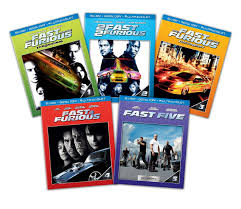 all 5 fast and furious movies on blu ray dvd digital copy only