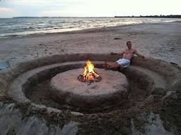 Does Newport Beach Have Fire Pits - best 25 beach style fire pits ideas on pinterest cottage
