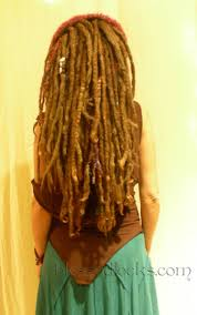 How To Dread Hair Extensions by Blessed Locks Custom Dreadlock Extensions And Falls From