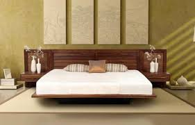 stylish and also interesting solid wood contemporary bedroom