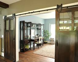 office design replacing sliding glass door with french doors