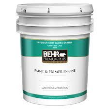glidden premium 5 gal semi gloss interior paint gln6413 05 the