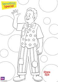 cbeebies colouring pages print funycoloring