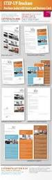Brochures And Business Cards Step Up Brochure With Inserts And Business Card By Ricci Gdf