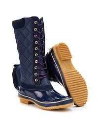 womens boots joules joules womens lace up muck boot navy roll out the