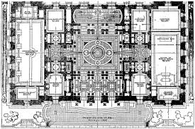 center colonial floor plan house inspiring center colonial house plans center