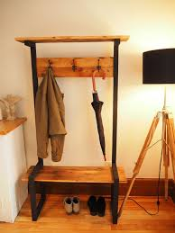 Coat Tree With Bench Industrial Coat Rack Bench Hall Tree 5 Steps With Pictures