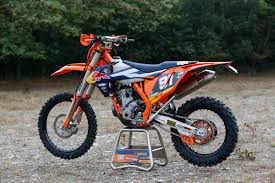 ktm motocross bikes nathan watson u0027s ktm 250 exc 2017 factory bike u2013 de ride review