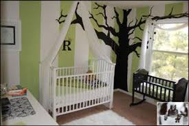 Green Nursery Decor Wall Sconces Wall Painting Ideas And Decor Green And White