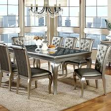 Silver Dining Room Silver Dining Room Table Dining Room Table And Chairs