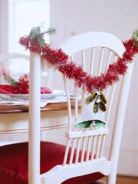 chair decorations 15 christmas chair decorating ideas shelterness