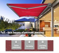 Caravan Retractable Awnings Dooya Tublar Motor And Remote Control Retractable Caravan Awning