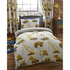 construction equipment boys bedding twin duvet cover comforter