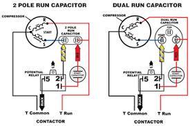 compressor run capacitor wiring diagram wiring diagram simonand