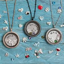necklace with charms images Lockets of love charm locket necklace by lauryn james jpg