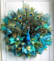 peacock deco mesh peacock wreath peacock feathers peacock