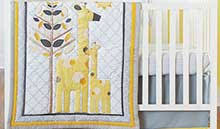 Grey And Yellow Nursery Decor by Yellow And Gray Baby Crib Bedding Yellow And Gray Nursery Decor
