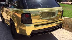 range rover rose gold range rover gold full car wrap extra quality youtube