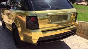 range rover rose gold range rover gold full car wrap extra quality youtube