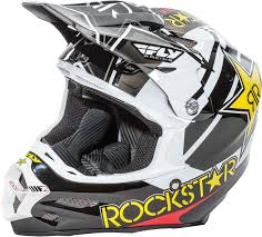 motocross helmets ebay fly racing f2 carbon rockstar helmet 2017 mx atv motocross dirt