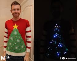 christmas tree jumper with lights fashion tips the best christmas jumpers guide for 2014 michael 84