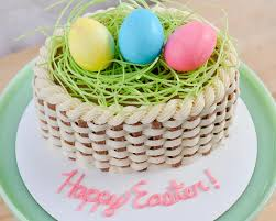 Homemade Easter Baskets by Beki Cook U0027s Cake Blog How To Make A Basket Cake